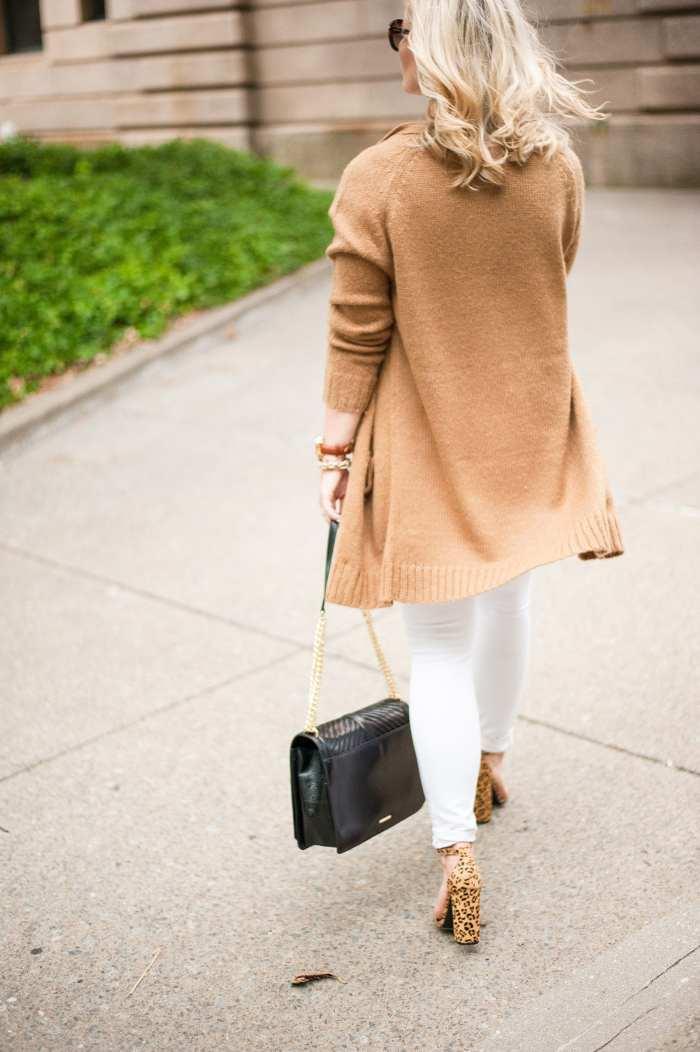 NSALE- Cozy Sweater - Fall wardrobe Transition - White Denim -15