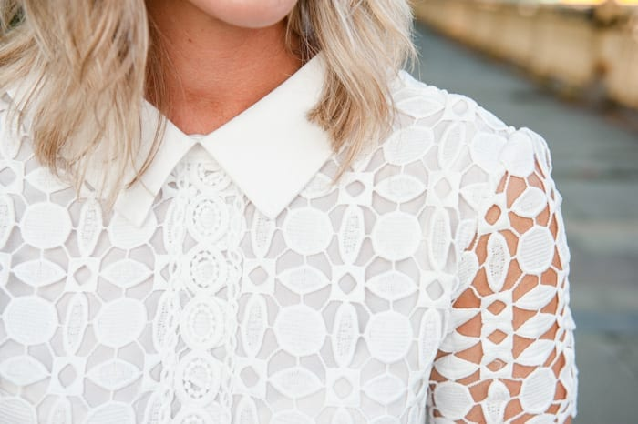 Ashley Pletcher loves this darling collar on her chic wish dress!