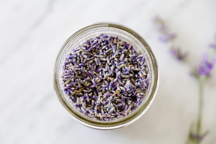 Ashley Pletcher creates a Fresh Vanilla Iced Lavender Coffee Recipe.