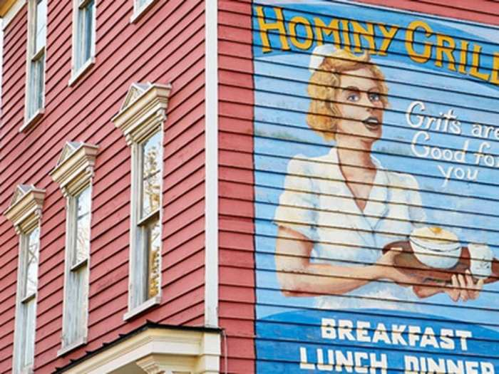 Blogger, Ashley Pletcher enjoyed southern cuisine at Hominy Grille in Charleston, SC