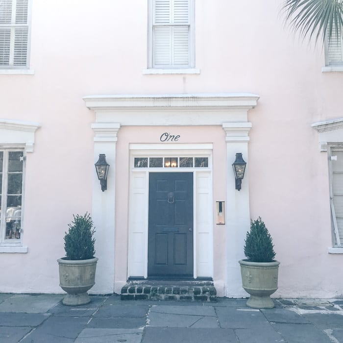 Charleston, SC is full of pretty pastel buildings and quaint streets.