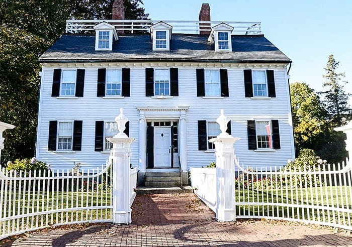 The Ropes Mansion in Salem, MA is the location of Allison's home, Max Dennison's crush in the movie Hocus Pocus.