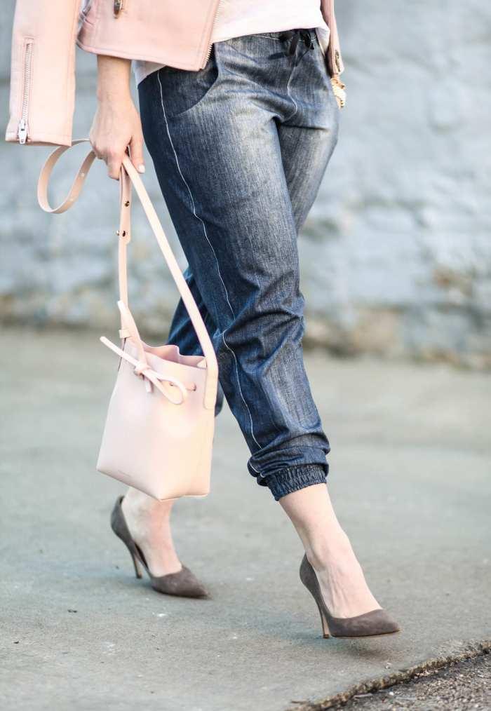 BLANK NYC - Blush- Athleisure- Kate Spade Pumps- Afternoon Espresso- Fashion- Ashley Pletcher-Activewear- Joggers