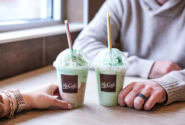 Date Night - Shamrock Season- McDonald's - Pregnancy Craving- Shamrock Shake- Afternoon Espresso-