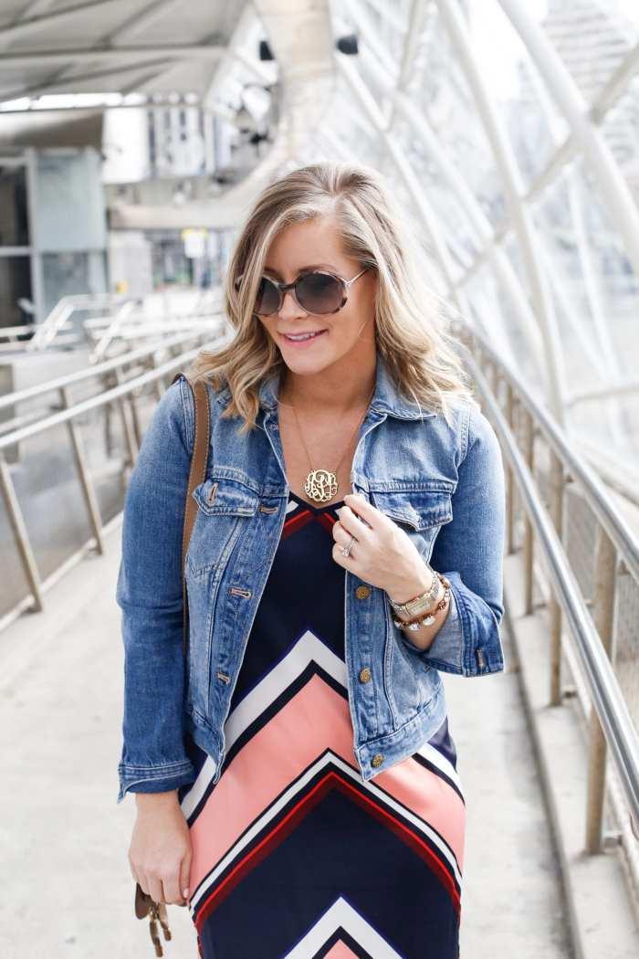 SEE Eyewear - Maternity Style - Afternoon Espresso - Ashley Pletcher - Target Slip Dress