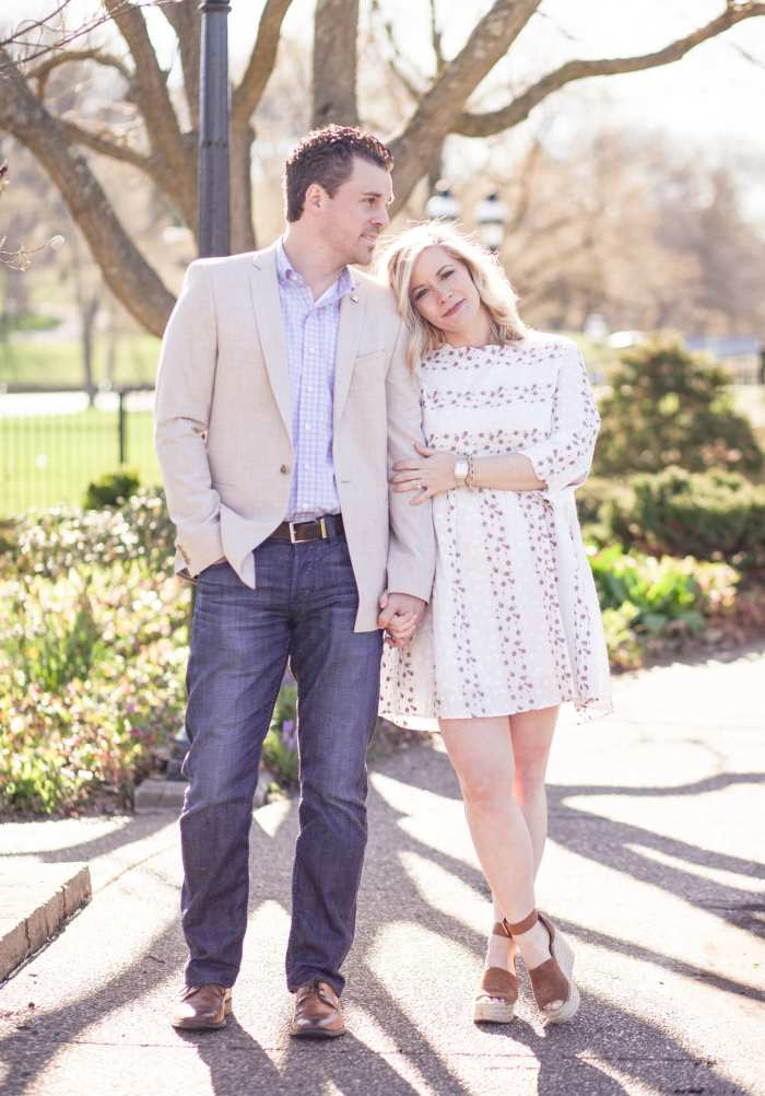Gender Reveal- Baby Girl - Easter Outfit Ideas- Couples Easter Outfits- Chicwish Dress- Asos Blazer- Men's Fashion