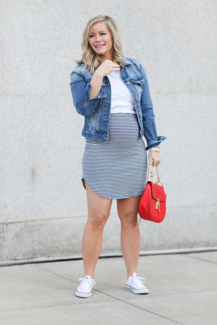 Memorial Day Sales - Maternity Fashion - Style the Bump -Trendy Maternity Fashion -Fourth of July Outfit Ideas - Fashion Blogger