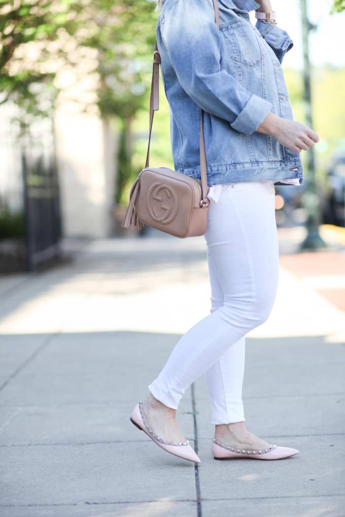 Fashion Blogger- Maternity Fashion - 5 Summer Essentials- Ashley Pletcher- Afternoon Espresso- Gucci Soho Bag