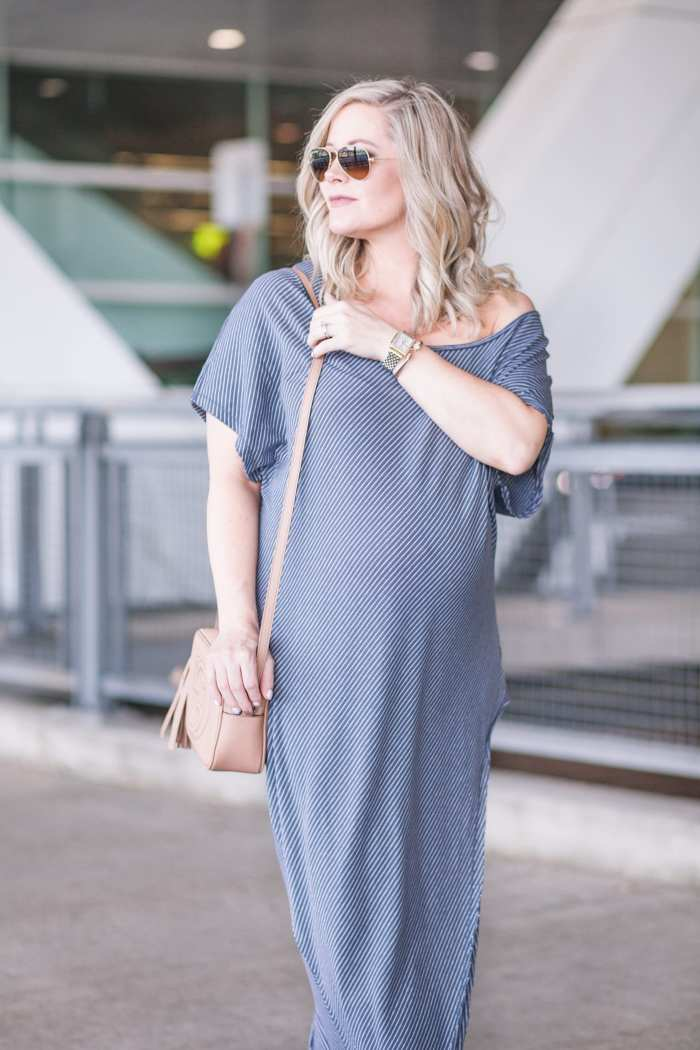 Free People Summer Maxi Dress- Maternity Fashion