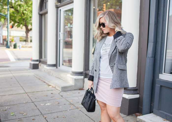 Blogger- Afternoon Espresso- Boyfriend Blazer- Target Style- Ashley Pletcher