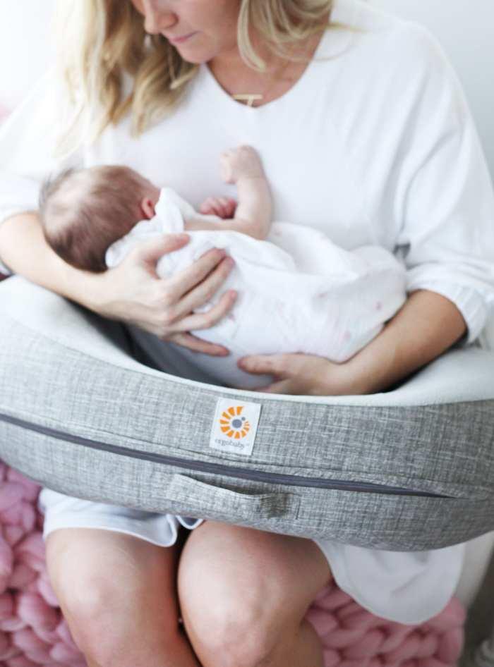 Newborn Essentials- The Baby Cubby - Ergo Nursing Pillow