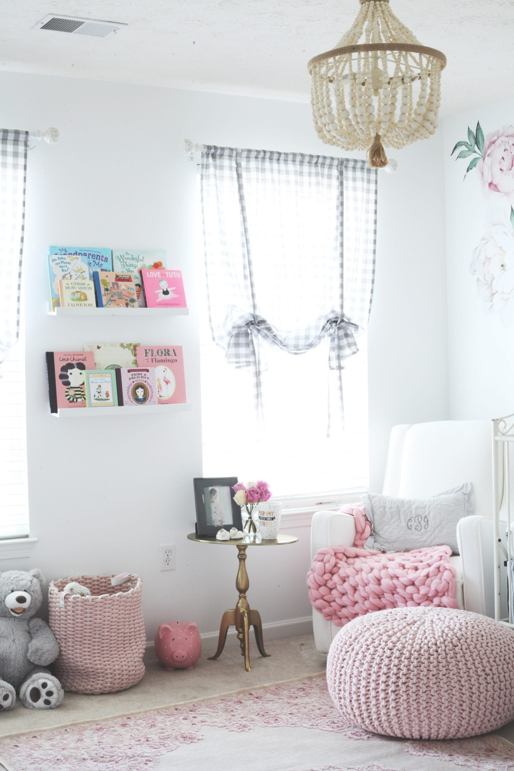 Baby Charlotte's Nursery Reveal + Video Tour