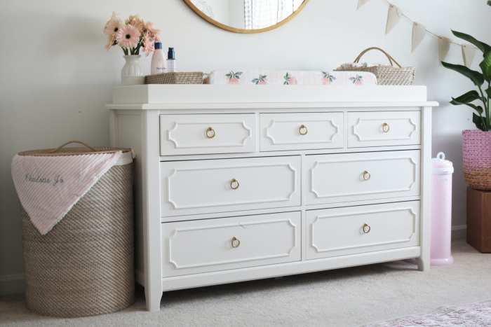 Pottery Barn Ava Regency Dresser - Nursery Decoration