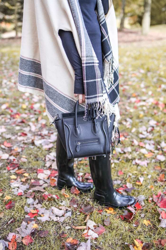 Layer- Cuddl Duds- Fall Fashion-Macys- Celine Bag