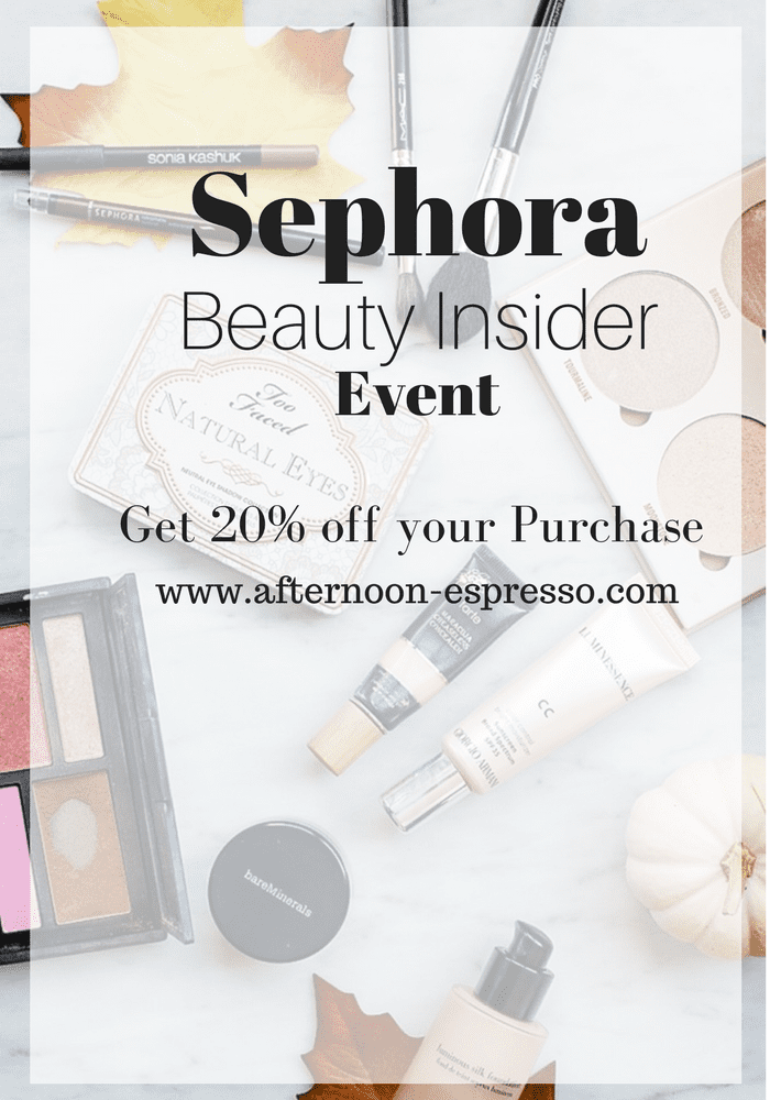 What's in My Sephora VIB Beauty Insider Shopping Bag?