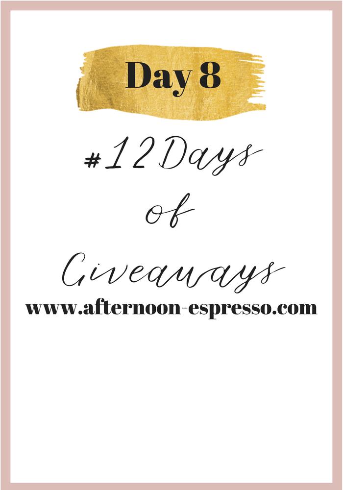 Day 8 of #12DaysofGiveaways with LipSense