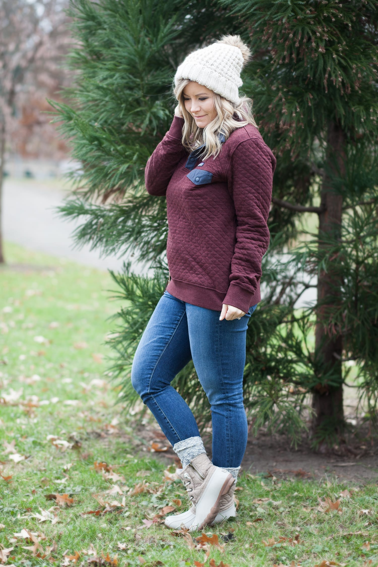 Festive Holiday Pullover + Day 9 of Giveaways with Vera Bradley