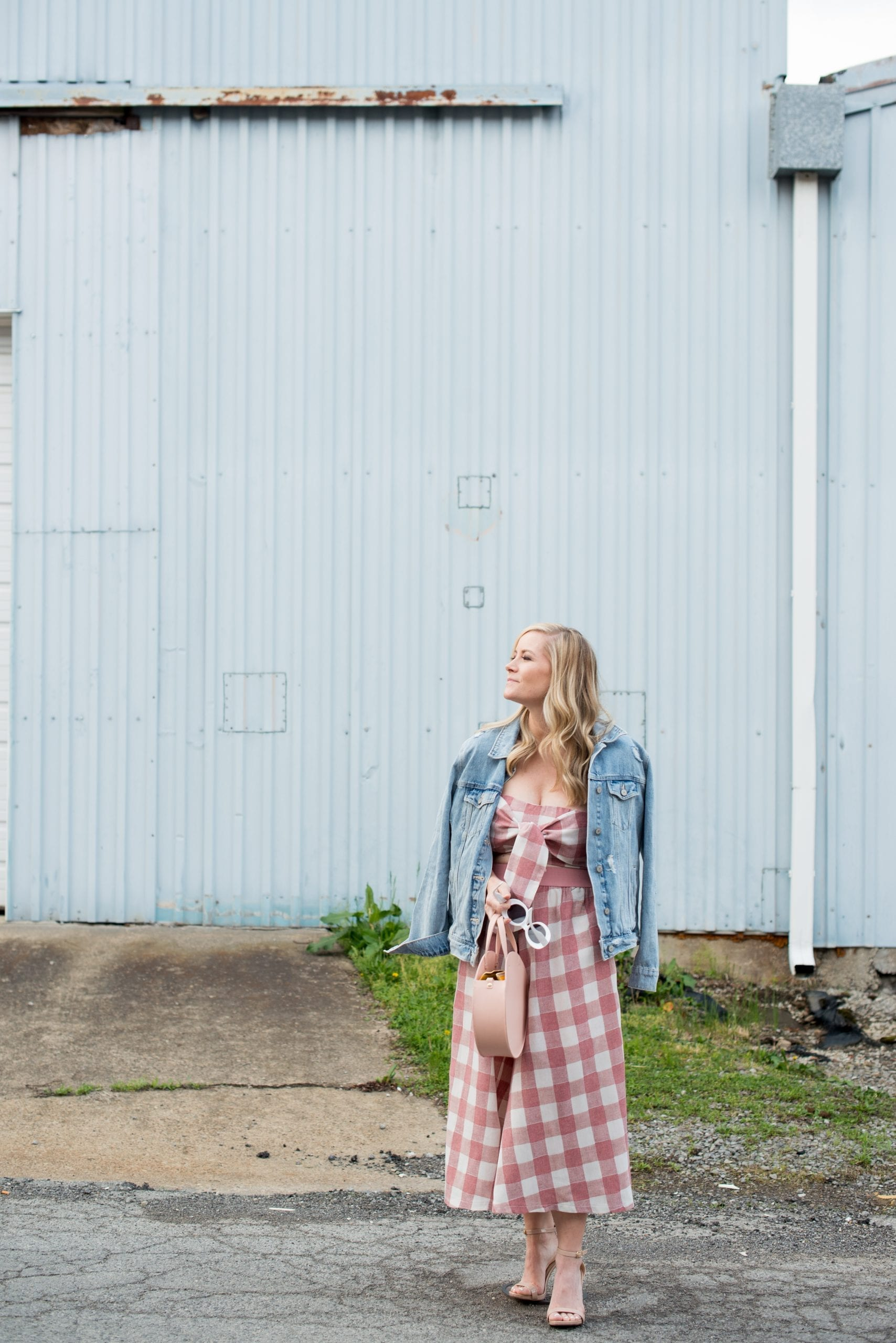 The Perfect Pair: Getting Matchy Matchy with this Gingham Matching Set