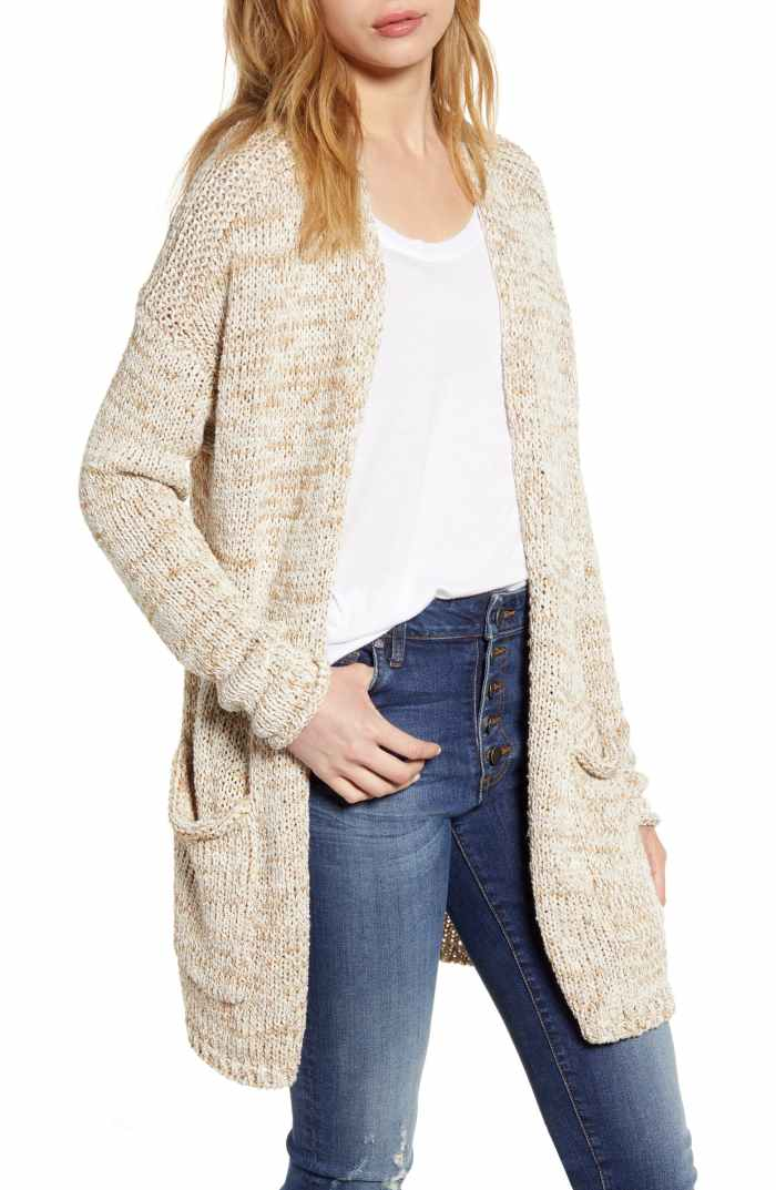 Space Dye Cardigan- Fall Staple- Fall Cardigan - Nordstrom Anniversary Sale