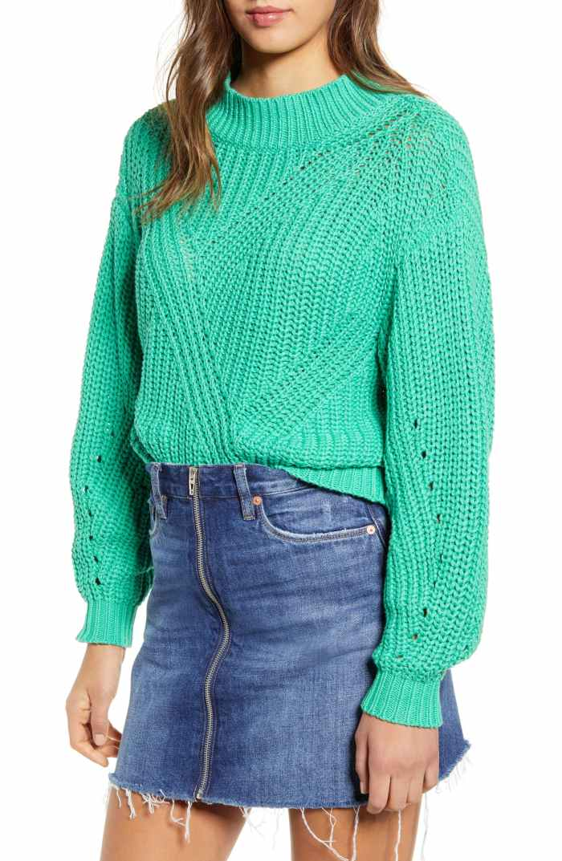 Traveling Stitch Sweater - Nordstrom Anniversary Sale- Nordstrom under $50