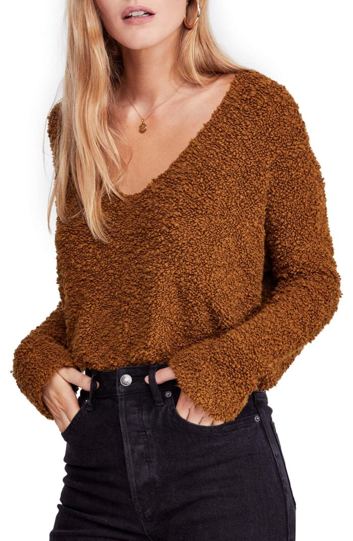 Popcorn sweater - Free People - Fall Staple - Nordstrom Anniversary Sale