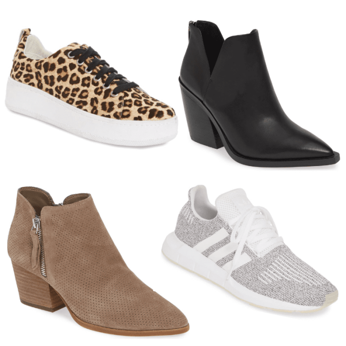 Nordstrom Anniversary Sale - Leopard Sneakers - Perforated Bootie- Boots Under $100 - Adidas Swift Run Sneaker