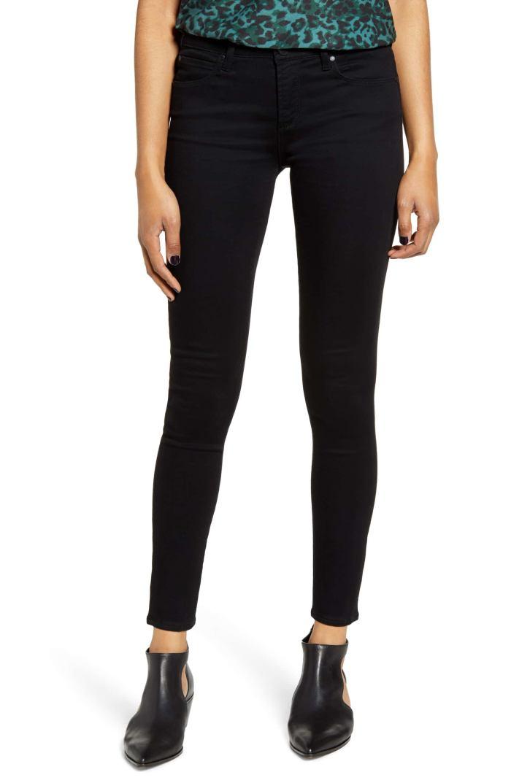 Sarah Ankle Skinny Jeans- Nordstrom Anniversary Sale- Black Denim