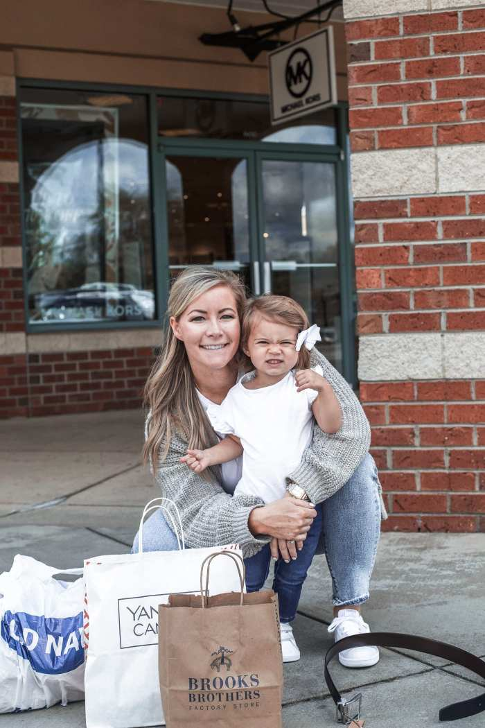 Fall Ready- Grove City Premium Outlets - Pittsburgh Shopping- mother and daughter shopping
