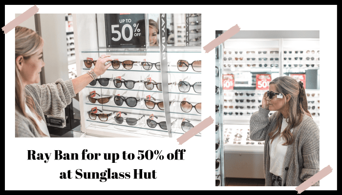 Fall Ready- Grove City Premium Outlets - Pittsburgh Shopping- Ray Ban Sunglasses - Sale - Sunglass Hut