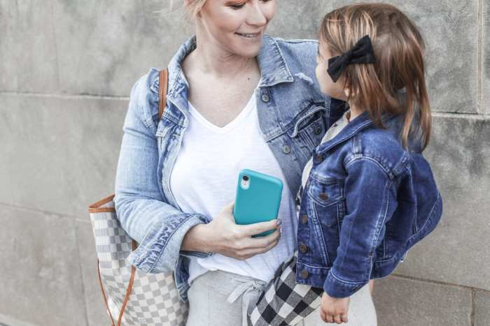Tech21- Iphone Case- Antimicrobial Phone Case- Mom Life