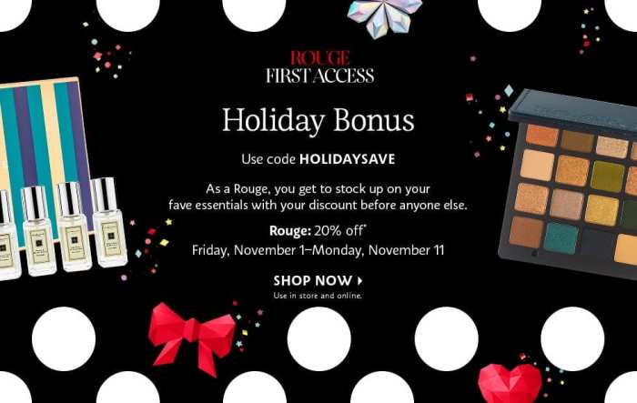 Sephora Holiday Beauty Inside Event