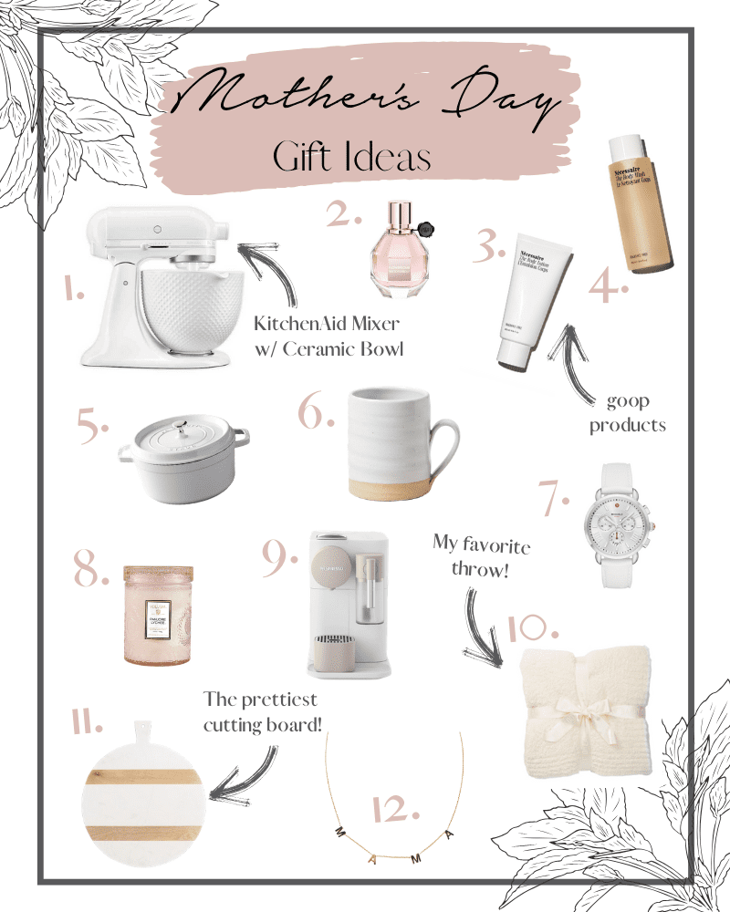 Afternoon Espresso's Mother's Day Gift Guide!