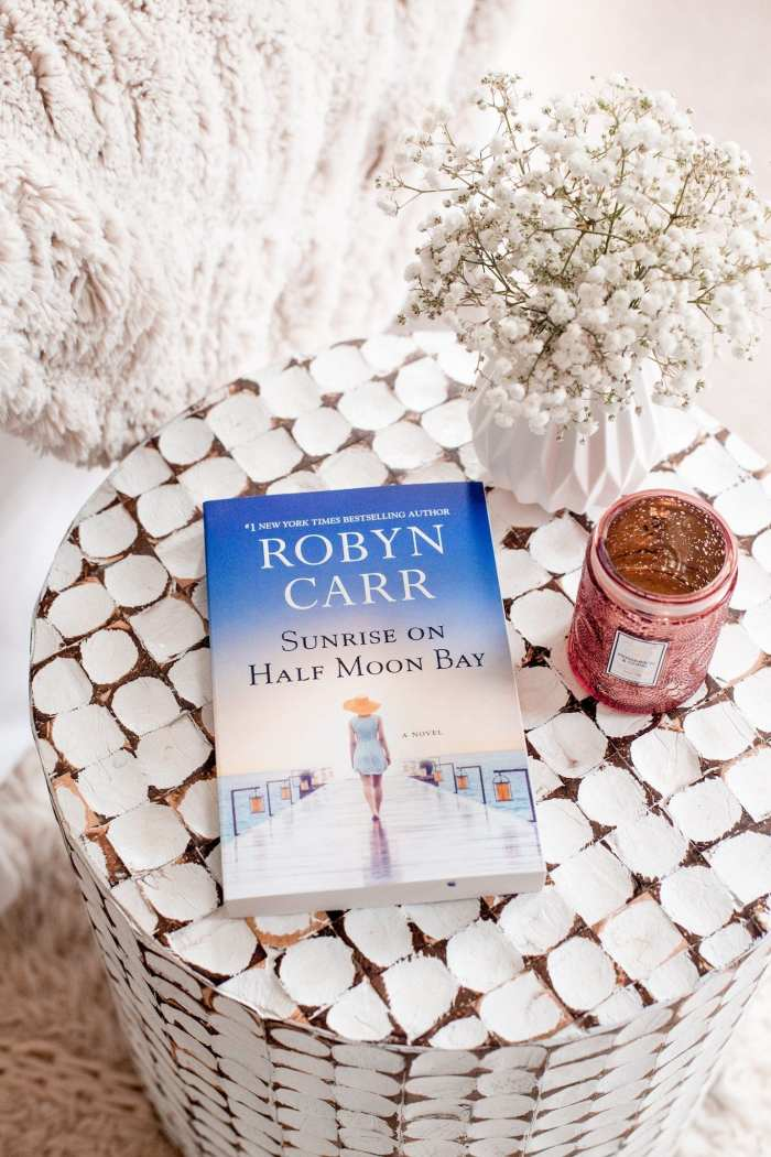 Mother's Day Gift Ideas-Robyn Carr- Sunrise On Half Moon Bay- Babbleboxx- Ashley Pletcher - Afternoon Espresso