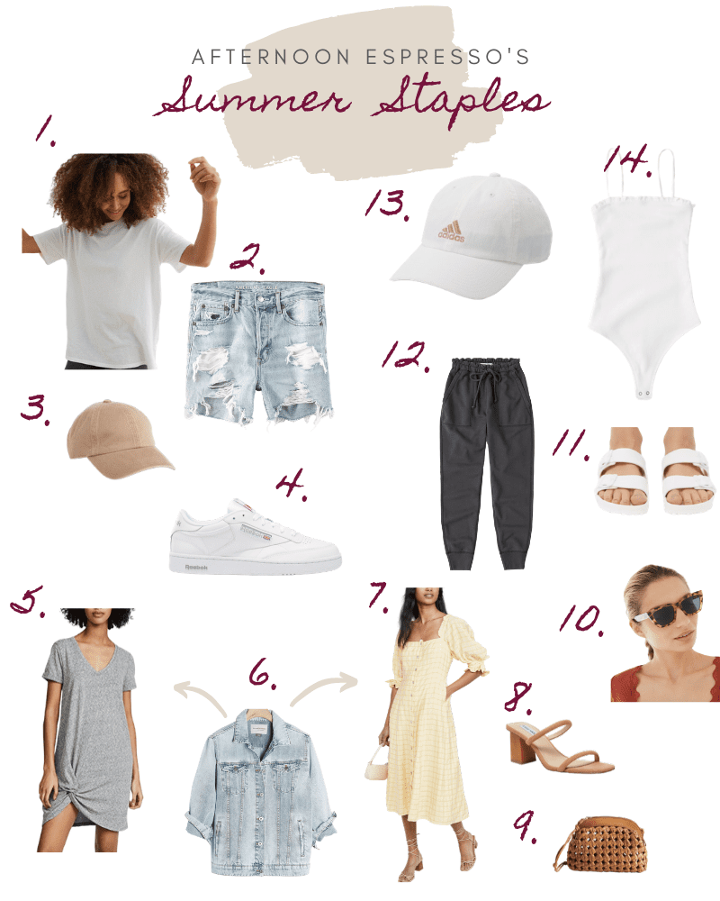 My Favorite Summer Staples to Kick off the Season + Giveaway!