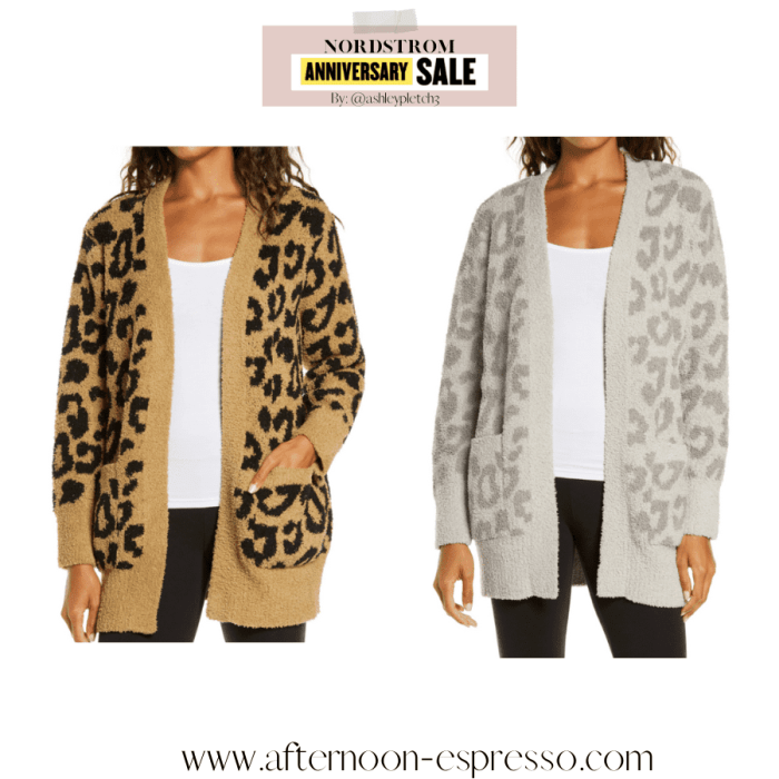 Anniversary Sale- Closet Staple Items- Fall Sale- Ashley Pletcher- Barefoot Dreams Cargian