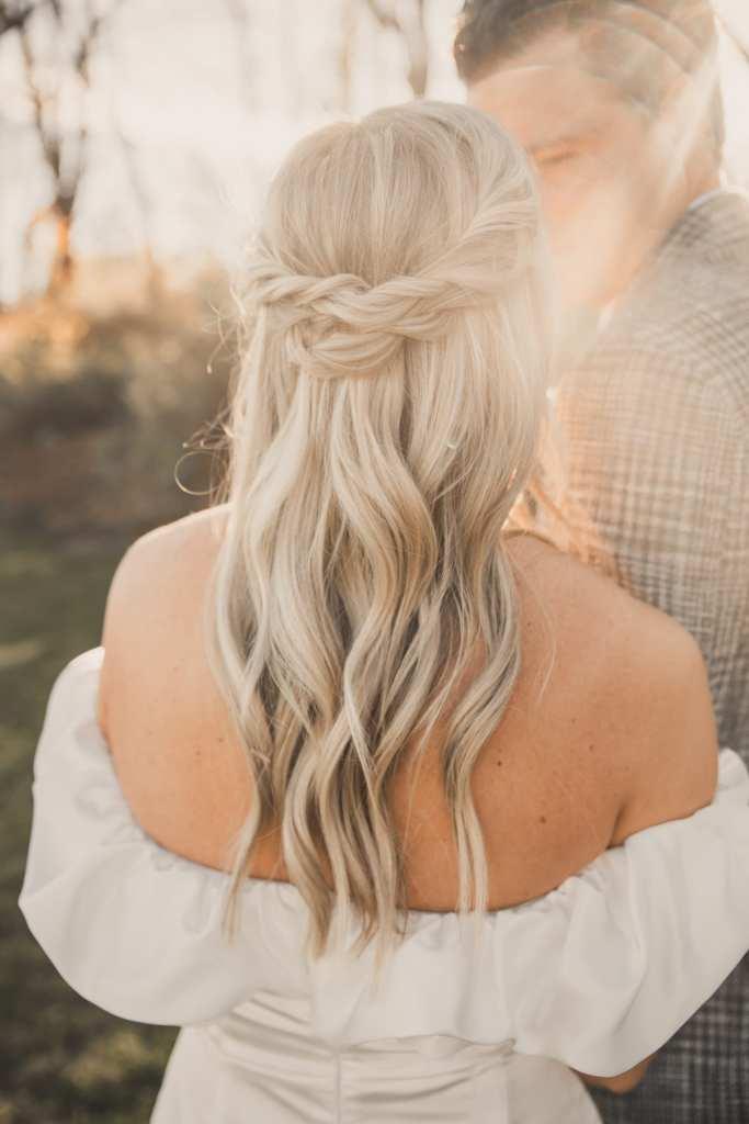 Pittsburgh Wedding - Bridal Hair Ideas- Long Hair Style- JandV Studio - Pittsburgh Hair Stylist- Burgh Brides