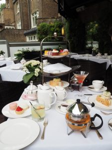 Summer Afternoon Tea - Montague on the Gardens Hotel London