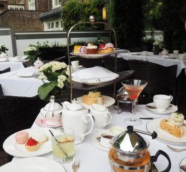 Afternoon tea at The Montague on the Gardens Hotel, London – Review ★★★★★