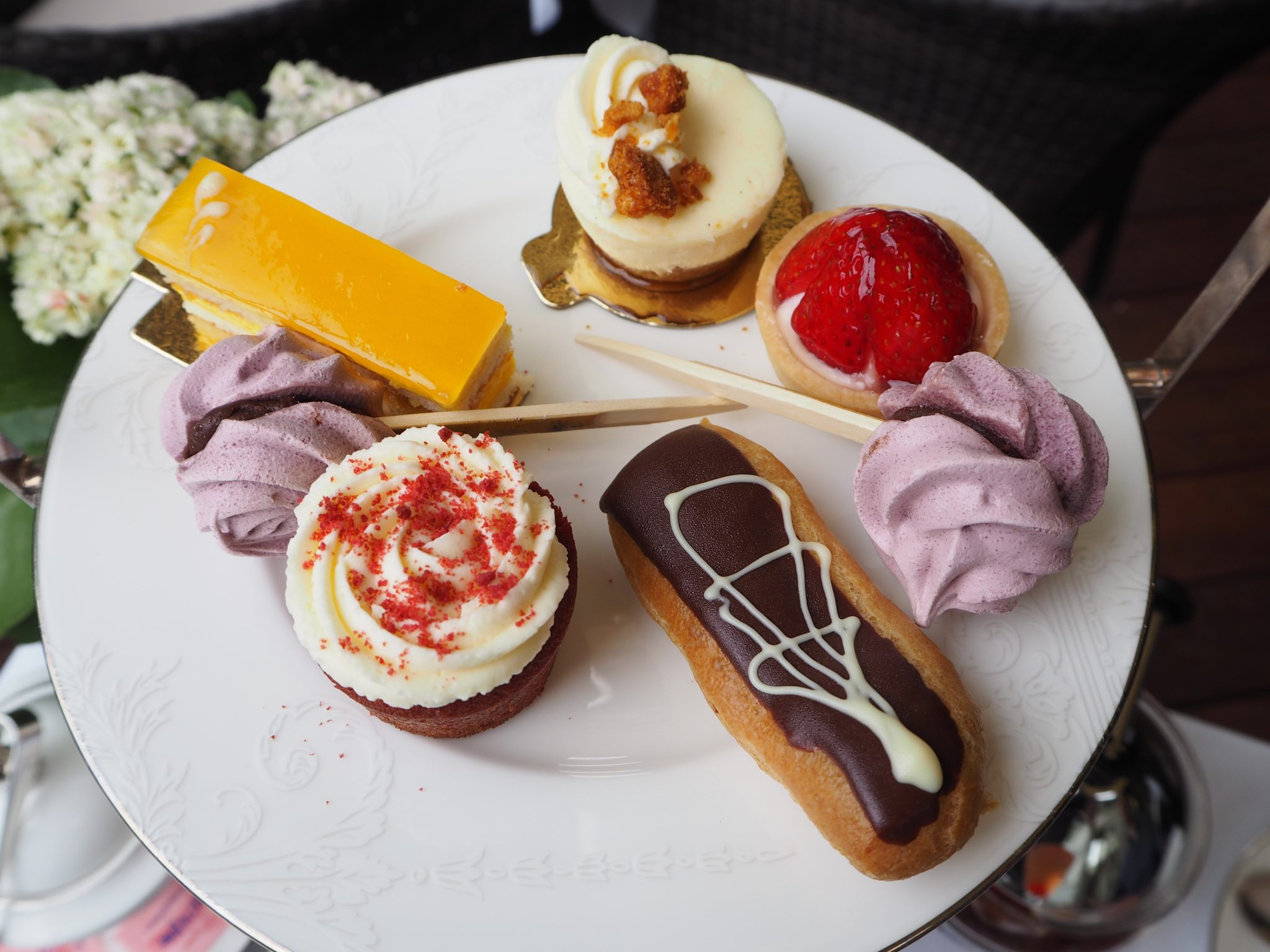 Pastries - Montague on the Gardens Hotel London