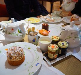 Afternoon Tea at the Bristol Hotel Paris – Review ★★★★★ (English/Anglais)