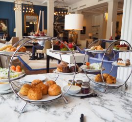 Afternoon Tea at The Waldorf Astoria, Amsterdam – Review ★★★★★