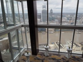 The Shangri-La at The Shard Lobby