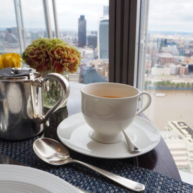 Shangri-La at the Shard - Welcome Tea
