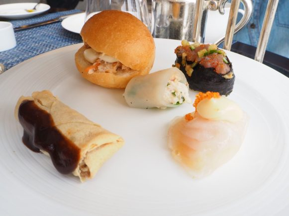 South-East Asian Afternoon Tea Savouries