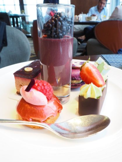 Summer Berry English Afternoon Tea Sweets