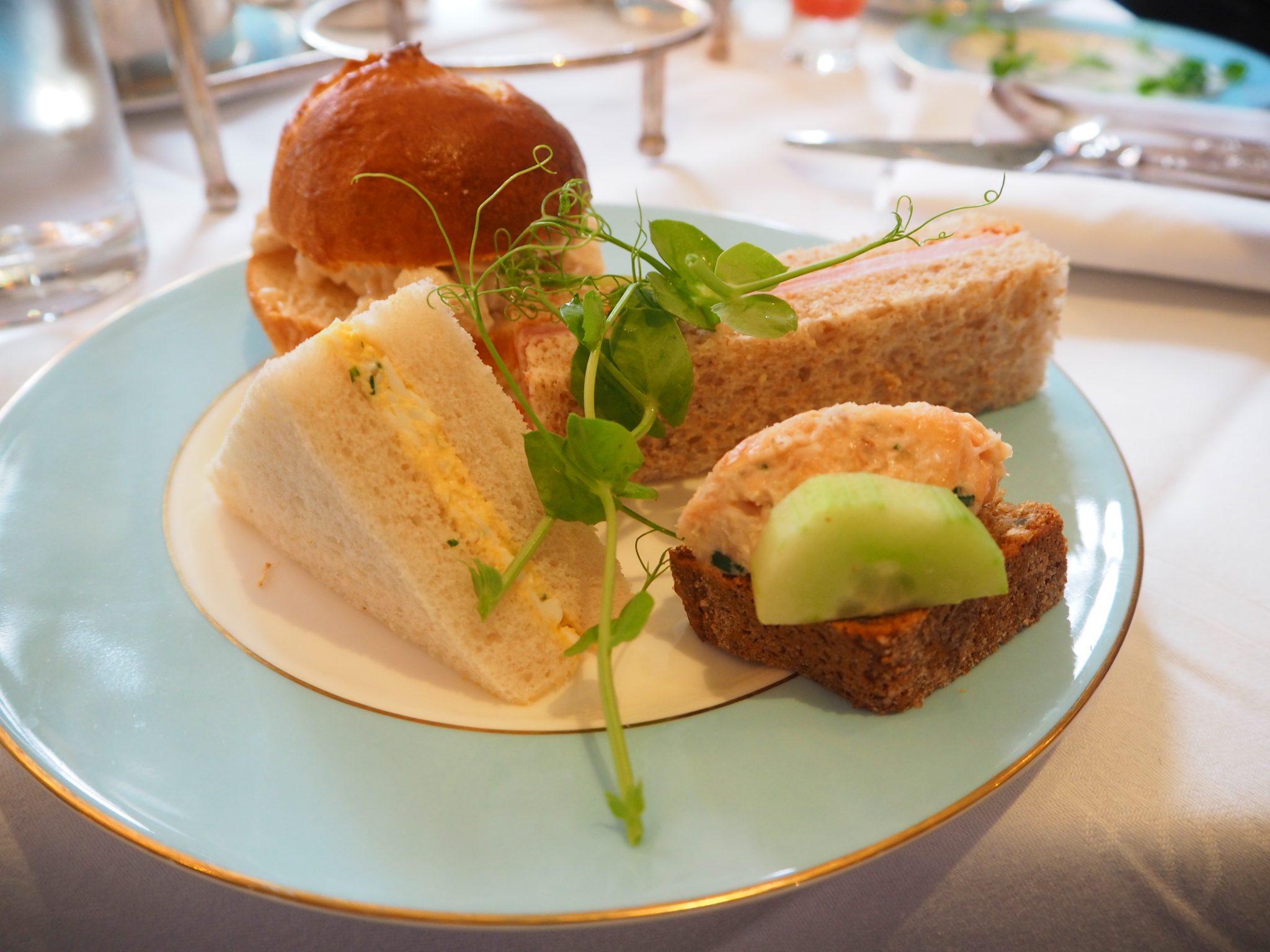 The Westbury Hotel Dublin - NCAD Fashion Afternoon Tea Savouries