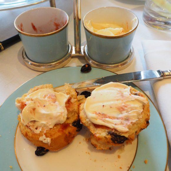 The Westbury Hotel Dublin - NCAD Fashion Afternoon Tea Scones & Madeleines