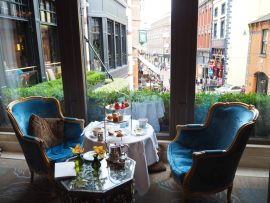 NCAD Fashion Afternoon Tea at The Westbury Hotel, Dublin - Review ★★★★★