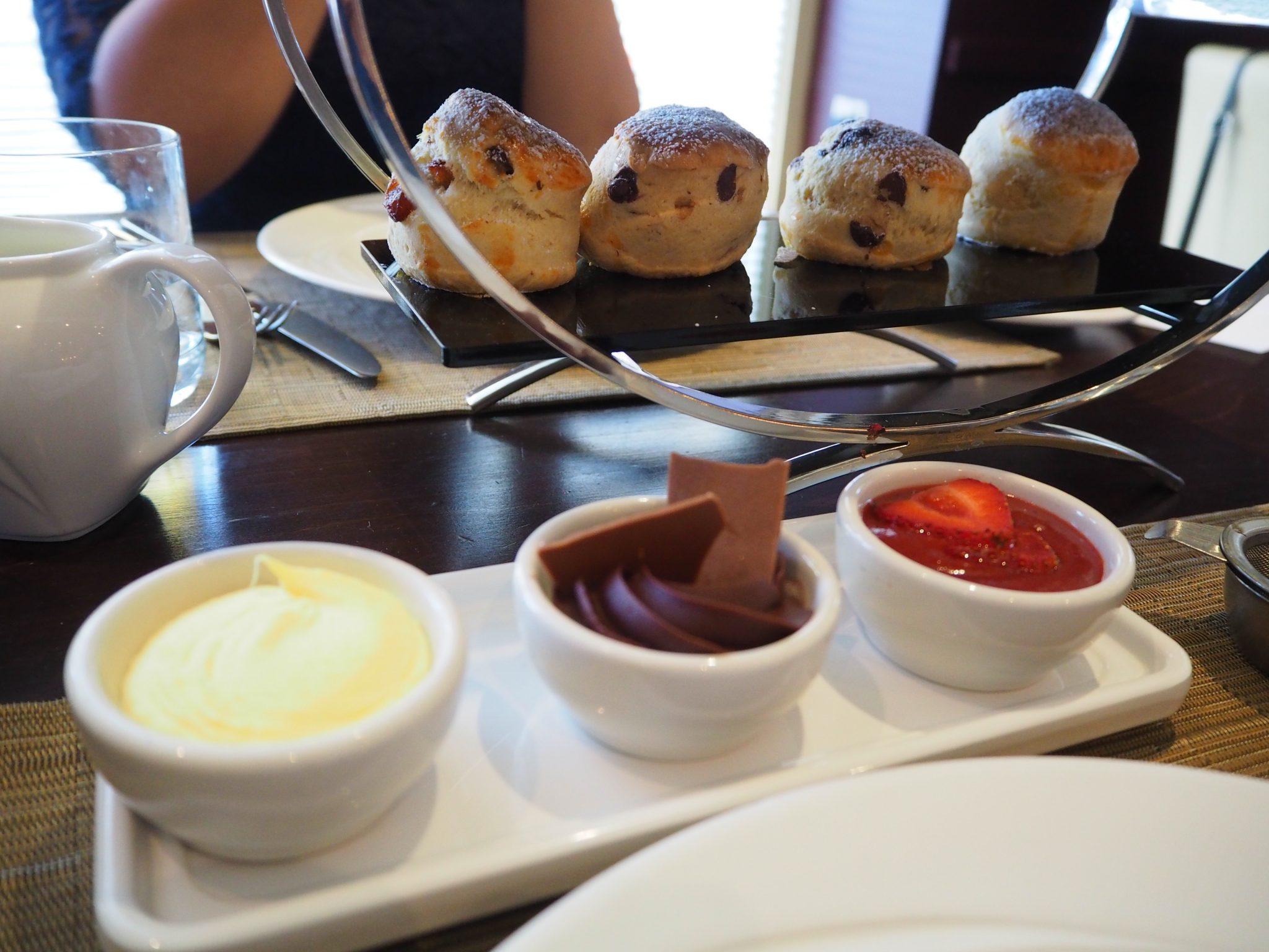 Chocoholic Afternoon Tea at The Hilton Park Lane - Scones