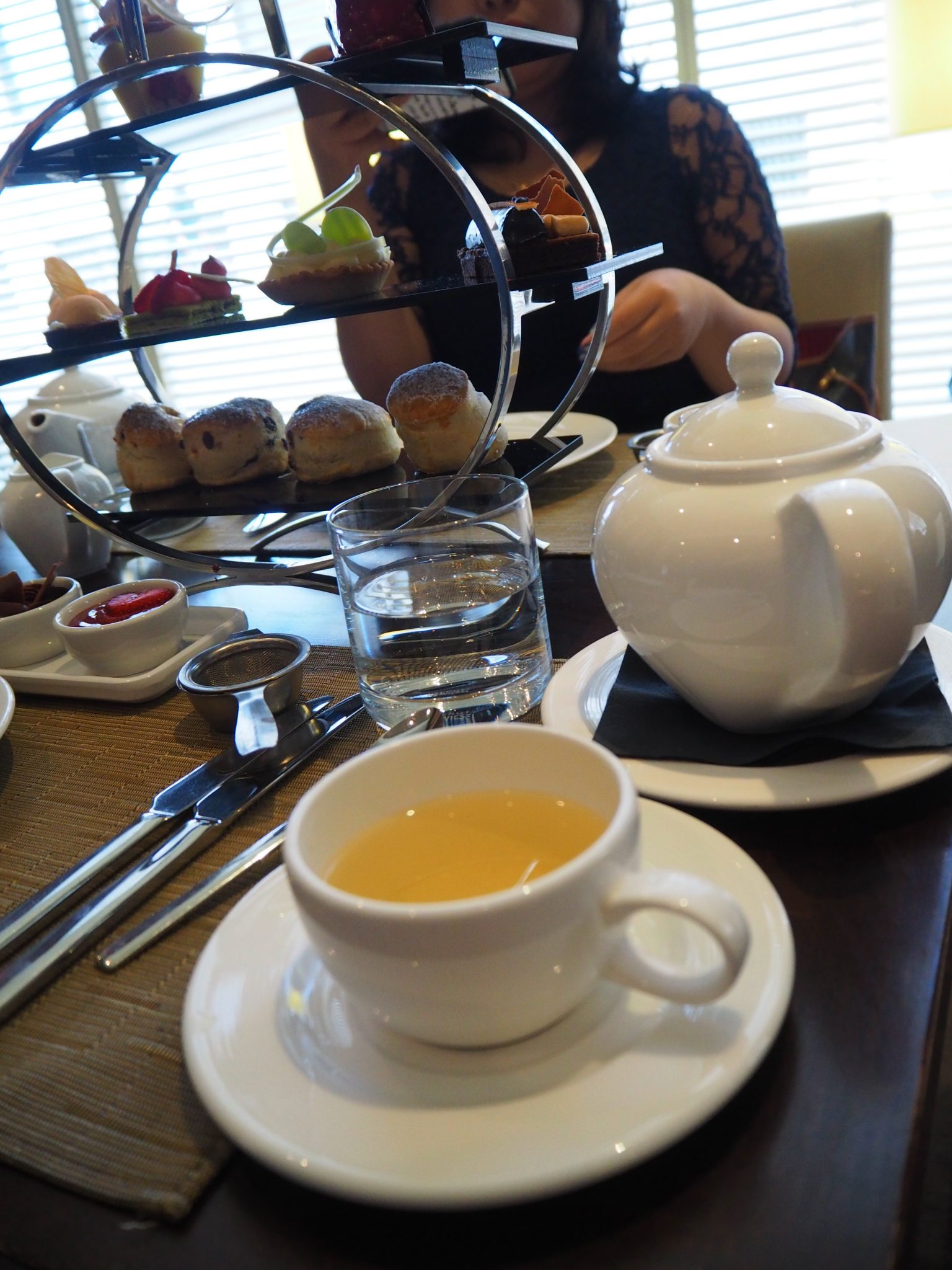 Chocoholic Afternoon Tea at The Hilton Park Lane
